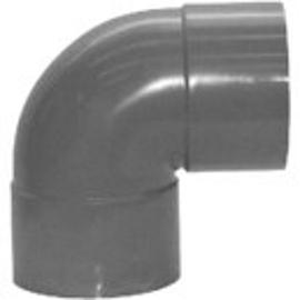 PVC 075 Bocht 90° 2xmof-75mm