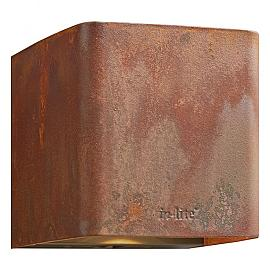 In-Lite Ace Up-Down Wall 100-230V Corten 8.5W LED WW