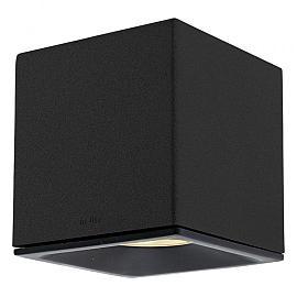 In-Lite Big Cubid Dark Wall 12v/11W LED Alu Dark Grey Warm White