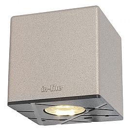 In-Lite CUBID (NEW) Wall 12V-0.5W LED Alu. rose silver WW