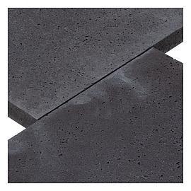 Schellevis opsluiting (gewapend) 50x100x5 cm carbon