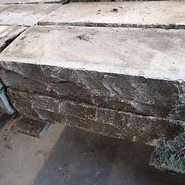 Restpartij China blue stapelblok 40x16x8 cm 2 zijden geknipt (uitlopend) OW2019