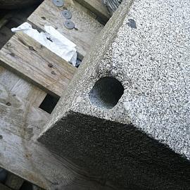 Restpartij Fontein Kubus Graniet Grijs 30x30x30cm (Uitlopend) OW2019
