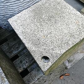 Restpartij Fontein Kubus Graniet Geel 30x30x30cm (Uitlopend) OW2019