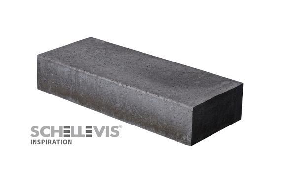 Schellevis Traptreden 100x37x15 cm (massief) carbon