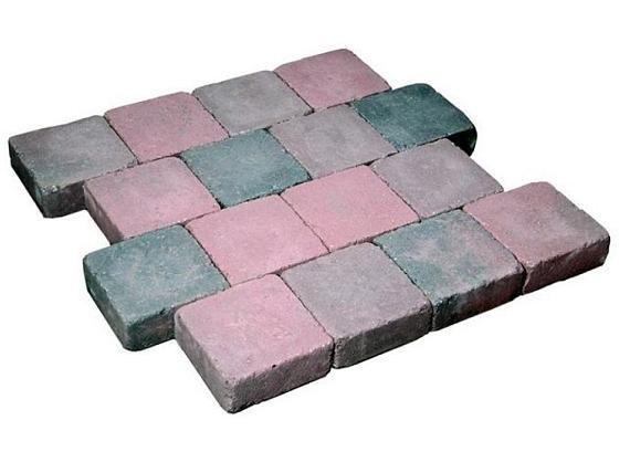 Cobblestones 21x7x8cm Rood genuanceerd