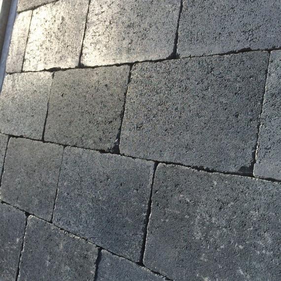 Trommelsteen Antic 30x40x6 cm Carbonata