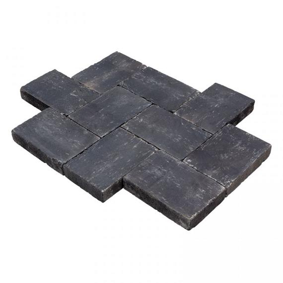 Aanbieding Trommelsteen Antic 20x30x6 cm Carbonata