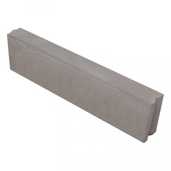 Opsluitband 12x25x100 cm vb grijs
