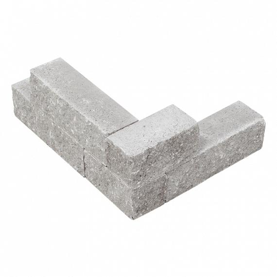 Splitblok noors grijs 29x9x9 cm