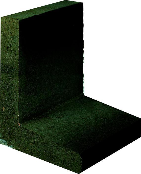L-element 50x40x40 cm Antraciet