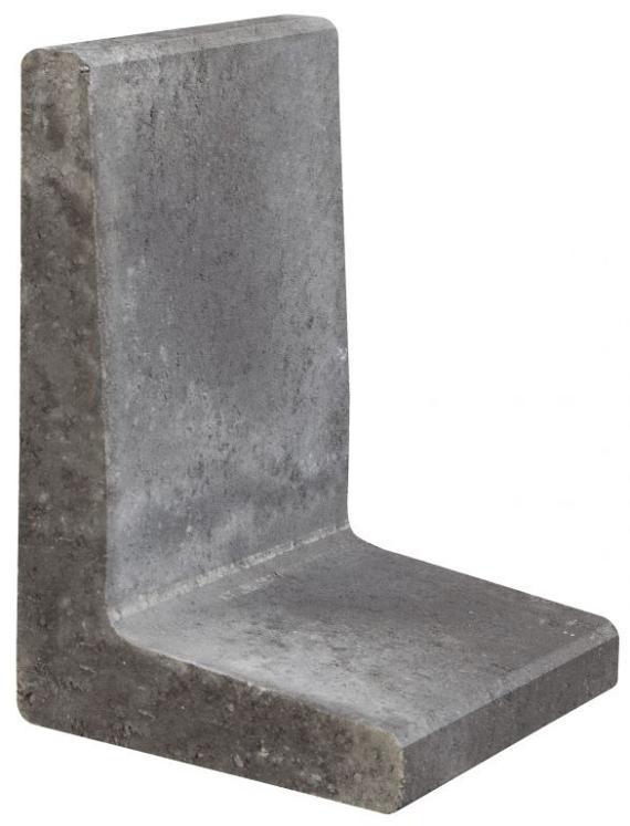 L-element 60x40x34 cm Antraciet