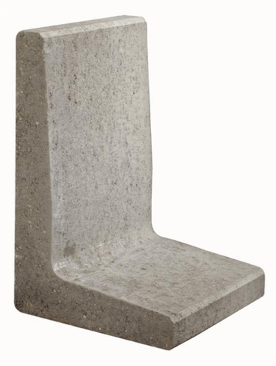 L-element 40x80x40 cm Grijs (uitlopend)