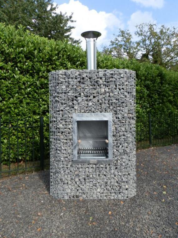 Gardeco Hoekhaard BBQ Large Gas gestookt 180x90x90 cm (exclusief vulling)