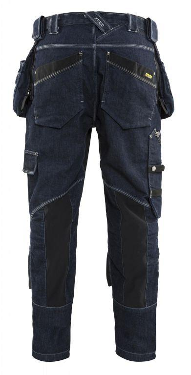 Baggy Denim Stretch X1900 199911418999C146 Marineblauw/Zwart mt. C146